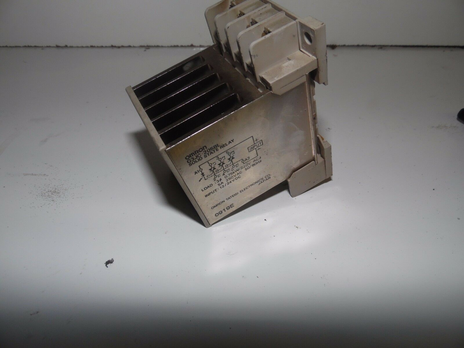 Omron Solid State Relay G3JC 205BL, 12/24VDC, Used, Warranty