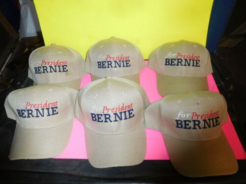 bernie sanders for president hats 6 for 40.00 new great buy free shipping