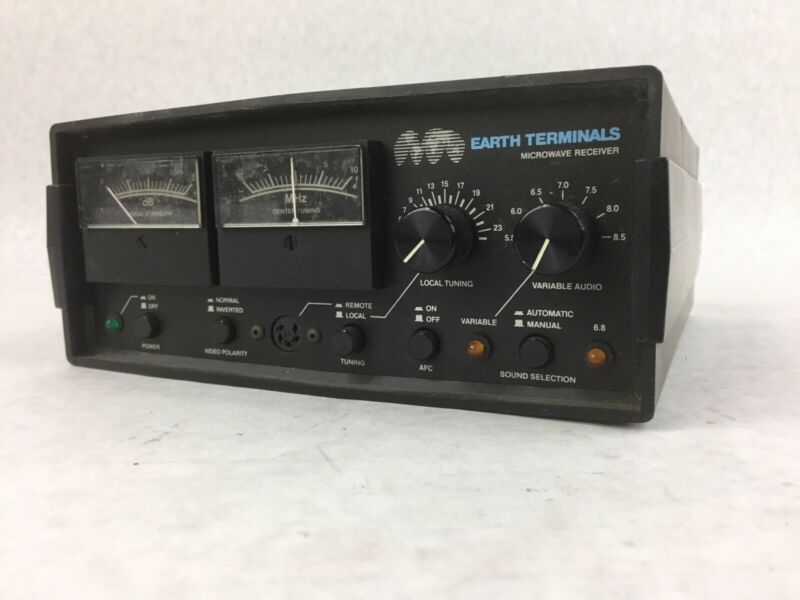 Earth Terminals Microwave Receiver