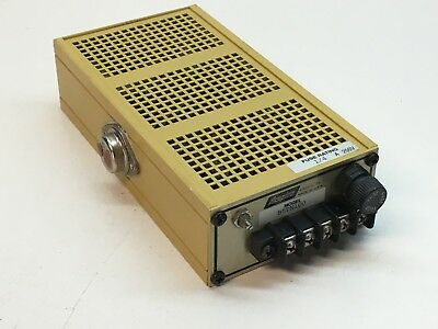 Acopian B5tn100 Linear Regulated Power Supply 5v Dc 5vdc Output 1a 1.0a
