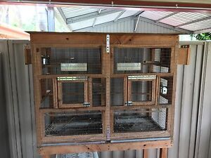 Double budgie breeding cage Kallangur Pine Rivers Area Preview