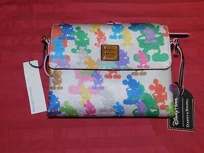 Disney Parks Wonder Mickey Mouse Crossbody Bag Dooney & Bourke 10th Anniversary