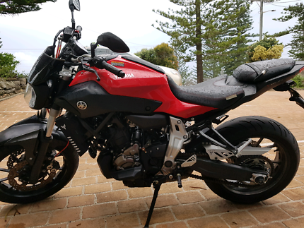 Yamaha MT07 2015 Clayfield Brisbane North East Preview