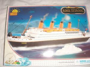 R.M.S 101 th Titanic bricks  not lego by COBI ship boat argosy