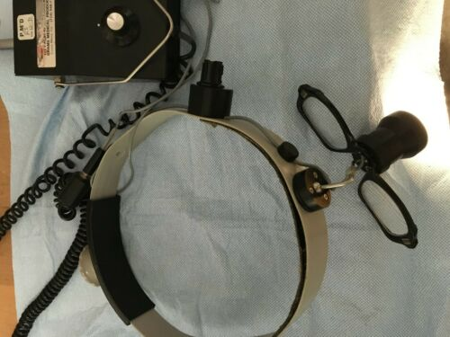 Grams Medical Surgical Headlight Headlamp w/ magnification loupe
