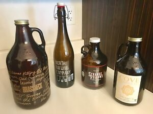 4 New Growlers