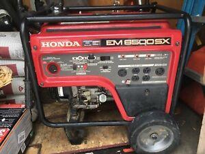 Honda EM6500SX Generator