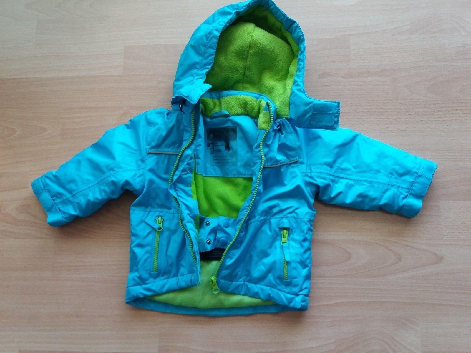 Baby / Kinder Impidimpi Winter / Schnee Jacke Grün/ Türkis Gr. 74 / 80