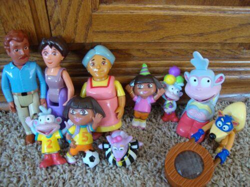 Dora The Explorer, Family figures lot