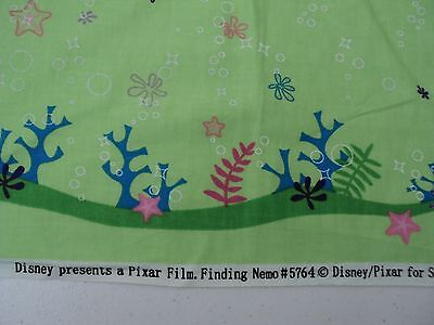 NEW Disney Finding Nemo/Dory Fabric 100% Cotton 2 1/2 Yards x 25