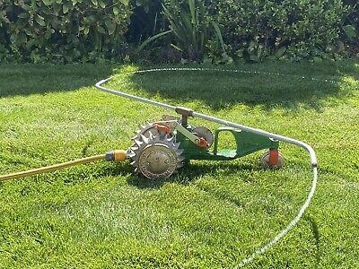 Vintage National B-3 Walking Lawn Sprinkler Tractor Cast Iron Original - TESTED