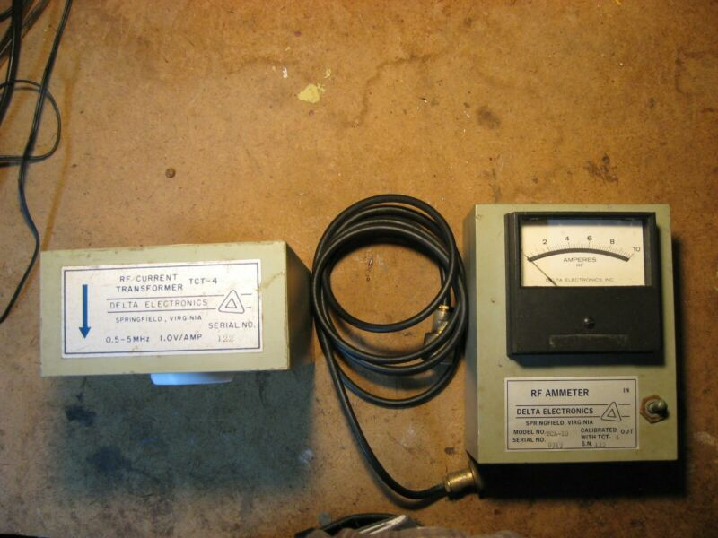 DELTA ELECTRONICS TCA-10- RF Ammeter