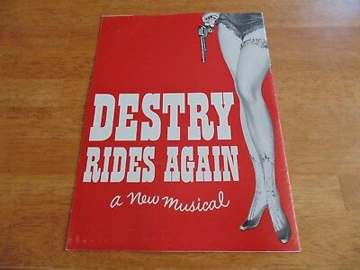 DESTRY RIDES AGAIN Program w/ Andy Griffith + Dolores Gray