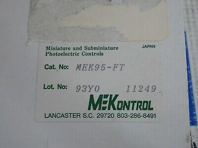 Mekontrol Mek95-ft Photoelectric Control Fiber Optic Sensor