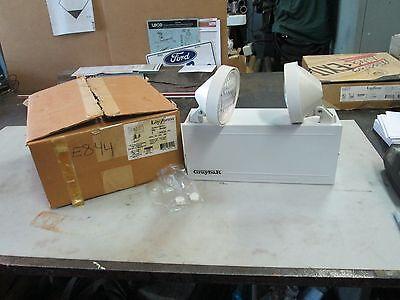 Graybar Dual Lite Two Headed Emergency Lighting Unit Mod Gmm-el-w2 6v Nib