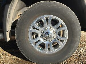 2017 Dodge 2500 set of 4 rim & tire