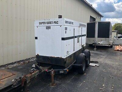 60 Kw Coleman Mobile Diesel Generator  Cj4t60sq