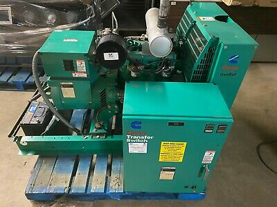 Onan Genset 16gnac Natural Gas 16 Kw Commercial Generator Wtransfer Switch