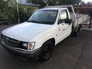 TOYOTA HILUX WORMATE AC STEER ALLOY TRAY GREAT UTE READY TO WORK Ipswich Ipswich City Preview