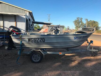Horizon 4.4m Dinghy 40Hp 4 Stroke with trailer
