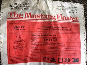 Mustang Floater Fisherman personal flotation vests