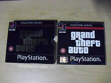 PLAYSTATION PS1, GRAND THEFT AUTO, COLLECTOR'S EDITION, 3 DISC'S Blacktown Blacktown Area Preview