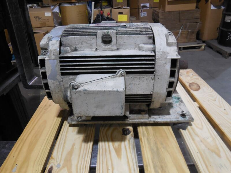 GE General Electric 15 HP Motor 1190 RPM (230/460 Volts) 3 Phase 5K286JL324BV