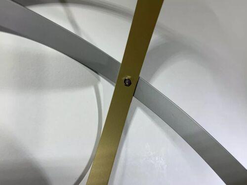 Genesa Crystal In Rame e alluminio da 25cm spessore 2mm altezza barretta 1,5cm