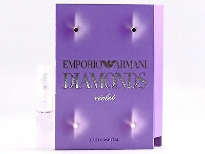 GIORGIO ARMANI EMPORIO ARMANI DIAMONDS VIOLET EDP 1.5ml .05oz x 1 SPRAY SAMPLE