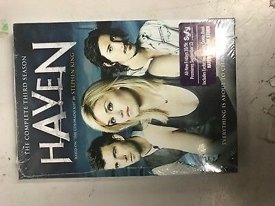 Haven  The Complete Third Season  Dvd  2013  4 Disc Set  Brand New