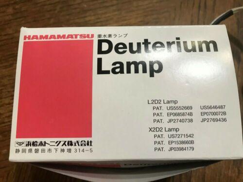 Hamamatsu X2D2 High Brightness Deuterium Lamp L10295 AIS UV-1H for Light Source