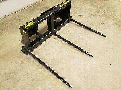 Skid Steer Bale Spears 3500lb Triple Spear Hd Frame. Multiple Options. Tractor