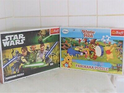 Clementoni Disney Winnie The Pooh & Star Wars Panorama Jigsaw Puzzle Combo