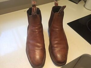 """RM Williams """"Chinchilla"""" men's boots Merewether Heights Newcastle Area Preview"""