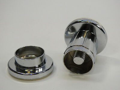 Moen 52-F Donner Adjustable Shower Rod Flange Set, Chrome 2 piece per box Chrome Adjustable Shower Rod