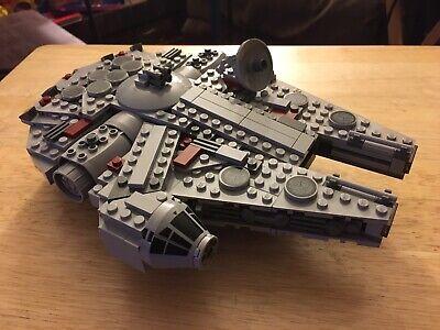 LEGO 7778 Star Wars Midi-scale Millennium Falcon Complete Retired No Instruction