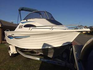 Quintrex 540 Spirit Aluminium cuddy-cabin with 115HP outboard mot Leeming Melville Area Preview