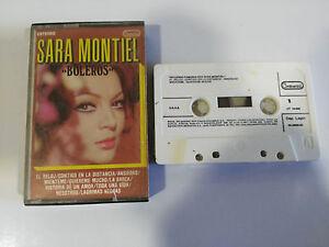 SARA-MONTIEL-BOLEROS-FAMOSOS-CINTA-TAPE-CASSETTE-CONTINENTAL-1983-SPANISH-EDIT