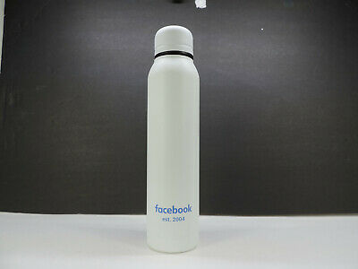 Water Bottle With Logo (H2GO SILO 16.9 FL OZ  INSULATED STAINLESS STEEL WATER BOTTLE WITH FACEBOOK)