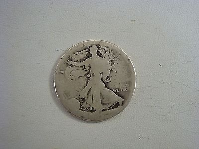 Walking Liberty Silver Half Dollar Coin With A Mint Mark D - $9.99