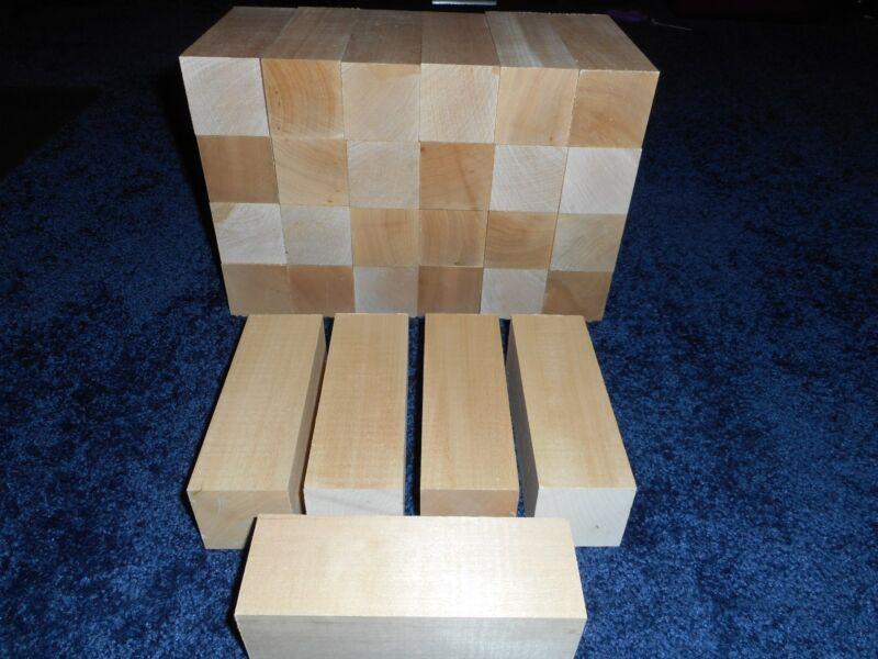 "2"" x 2"" x 6"" Basswood Carving Wood Blocks Craft Lumber *KILN DRIED* BUY IN BULK"