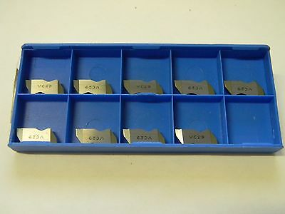 Valenite Indexable Carbide Grooving Inserts 9 Pack VC29 Grade VLRP3031R