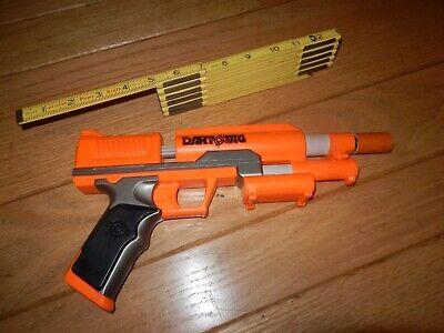 Modified Nerf Dart Tag Storm Fire Orange Pistol Dart Blaster BRASS BARREL