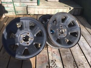 """*Reduced/Want gone 15"""" Rims (5x4.5"""")(5x114.3mm)"""
