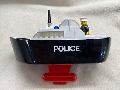 Lego #709 Police Boat Vintage 1977 - 100% COMPLETE With Instructions. No Box.