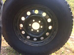 Set of 4 F 150 rims and tires 17 inch
