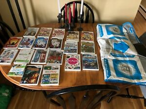 Wii console with 19 games and accessories- $225 OBO