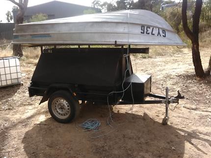 Tradie trailer and boat