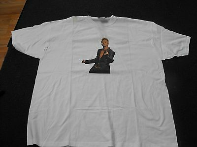 DAVID BOWIE FLIPPING THE BIRD CONCERT TEE SIZE XL