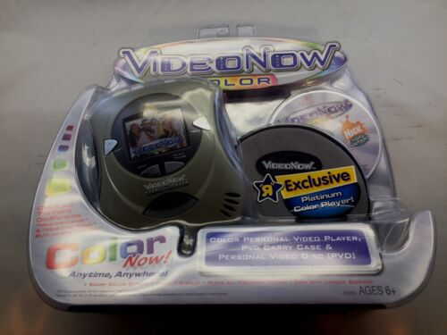 NIP Video Now Color Platinum Personal Video Player, Case & Fairly Odd Parents
